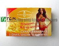 body care soap ginger essence 3 days show beauty shape 4pcs ginger soap slimming soap