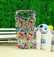 Diamond Bling Pearl Hard Back Case for Samsung Galaxy S3 I9300 Colorful BC59