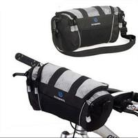 ROSWHEEL Bicycle Tube Bag Handlebar Pack Bike Baskets Cycle Cycling Front Frame Pannier Bag