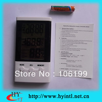 Free shipping digital thermometer and hygrometer