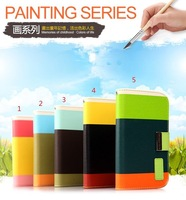 1pcs Freeshipping Hot,Original Kalaideng painting series leather case for samsung galaxy note 2 N7100