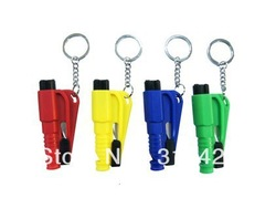 Window emperorship keychain chain life-saving hammer escape device car safety hammer(China (Mainland))