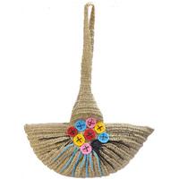 Bag casual fan straw bag woven bag m039