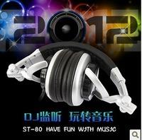 Free Shipping Somic st-80 e80 professional dj monitor's headset multimedia earphones