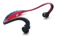 free shipping 8GB New Wireless Wrap Around Headphones Digital Sport MP3 Player with TF card slot + retail box