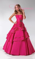 Free Shipping Strapless P4535 Prom Dress cheap bridesmaid dresses online(China (Mainland))