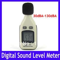 EMS Free shipping Mini Digital LCD Audio Sound Noise Level Meter Decibel Monitor Pressure Tester ,30pcs/lot