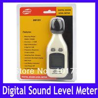 Free shipping Wholesale High quality GM1351 Digital Sound Level Meter Decibel Logger 30-130dBA ,3pcs/lot