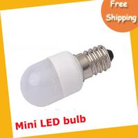 EMS free shipping high quality E12 9PCS SMD5050 220V 1.2W 100-120LM Mini LED bulb 50pcs/lot