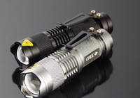 New Arrival SK98 LED Flashlights/Factory Direct Selling Police lights/Free Shipping Waterproofing Hand Torch T6 Bulb