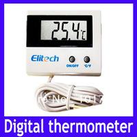 Free shipping NTC sensor Digital Thermometer with LCD display ,MOQ=1