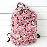 2013 bags canvas bag backpack women's handbag female women's handbag women's school bag