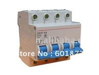 100% Guarantee wholesale and retail C45N 40A (3 pieces/Lot) Circuit Breaker low voltage