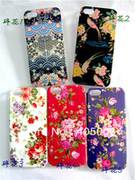2013  newest  beautiful   flower back cover  case   for iphone 5 5G FREE SHIPPING 50PCS/LOT