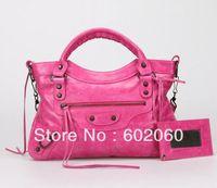 MOQ1-2013 fashion leather women' handbags,brand design