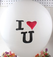 36 Inch Flat Latex Balloon For Wedding Valentine's Day Party Decoration
