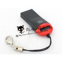 MicroSD / MicroSDHC / Memory Stick Micro M2 USB 2.0 Card Reader / Writer supports upto 16GB MicroSDHC and 16GB M2