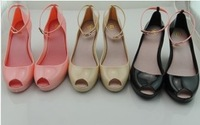 2012 melissa jelly shoes marisa open toe open toe high-heeled shoes women's shoes,free shipping,drop shipping