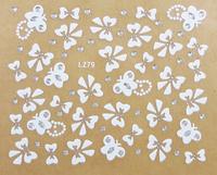 free shipping,nail art finger stickers nail polish oil applique three-dimensional 3d applique lz series