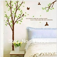 Free shipping  parlour bedroom decoration Sofa TV background can remove Wall sticker Love story 60*90cm