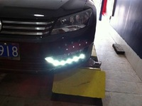 High quality LED Daytime running lights front Fog lamp Fog Lights For 2011-2013 Volkswagen PASSAT B7
