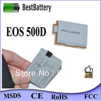 genuine 1080mAh LP-E5 LPE5 digital camera battery for canon EOS 500D EOS 1000D free shipping 20pcs/lot