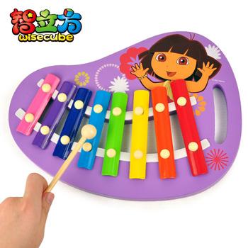 Dora 8 knock piano wooden knock piano music toy