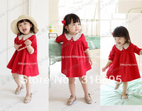 Free The China air parcel shipping! Children dress ,Children summer woman's gown