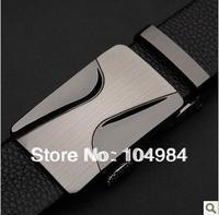 New Arrivals+1pcs/ lot+fashion designer Fashion design Men's 100% Genuine Leather leather belt Black & Men's The best gift