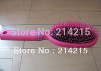 5pcs PINK Hair Extension Loop Brush