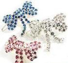 wholesale~varabow rhinestone dog hair clip jewelry
