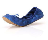 2015 NEW X'MAS SIZE 36-41 ! Lovely Lady Dance Ballet flats shoes for Women shoes & Blue,Green