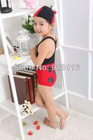 Free Shipping NWT Red Ladybug Swimwear Girls Boys Bikini Tag Child Swimsuit Wholesale Promoted (2952)
