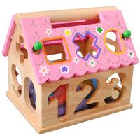BIG PROMOTION Wisdom house baby geometry shape box digital shape 1 - 2 - 3