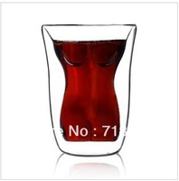 Free shipping  2pcs/lot New arrival beauty wine glass cup whisky red wine cup