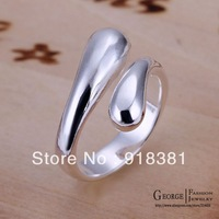 GSSPR012-0/Valentine's day gift Water droplets silver finger ring,fashion silver ring, high qualitywholesale fashion jewelry