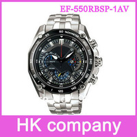 Valentine's Gift hot sales New EF-550RBSP-1AV EF-550RBSP 550RBSP Red Bull 1/20 Chronograph Tachymeter Men Watch Free Shipping