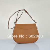 MOQ1-2013 fashion women' leather messenger bags brand design