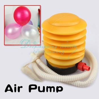 Balloon Swimming Ring Air Pillow Inflatable Toy Yoga Ball Foot Air Pump Inflator