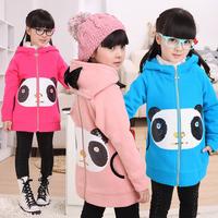 Children's clothing female child 2012 autumn long-sleeve reversible large sweatshirt 12c2096