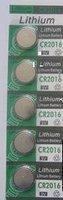 CR2016 3V button cell battery CR2016 electronic e-CR2016 battery freeshipping