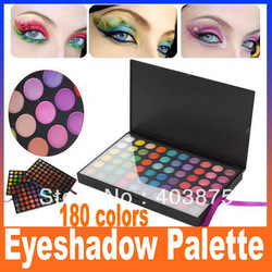 180 Full Color Warm & Cool Pro Camouflage Eyeshadow Eye Shadow Make Up Makeup Cosmetics Gloss Neutral Palette Set FreeShipping(China (Mainland))