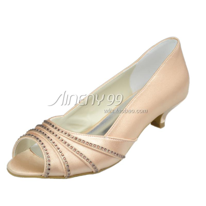 Aliexpress Popular Wedding Shoes Champagne Color In Shoes