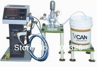 Water soluble electrostatic spray gun