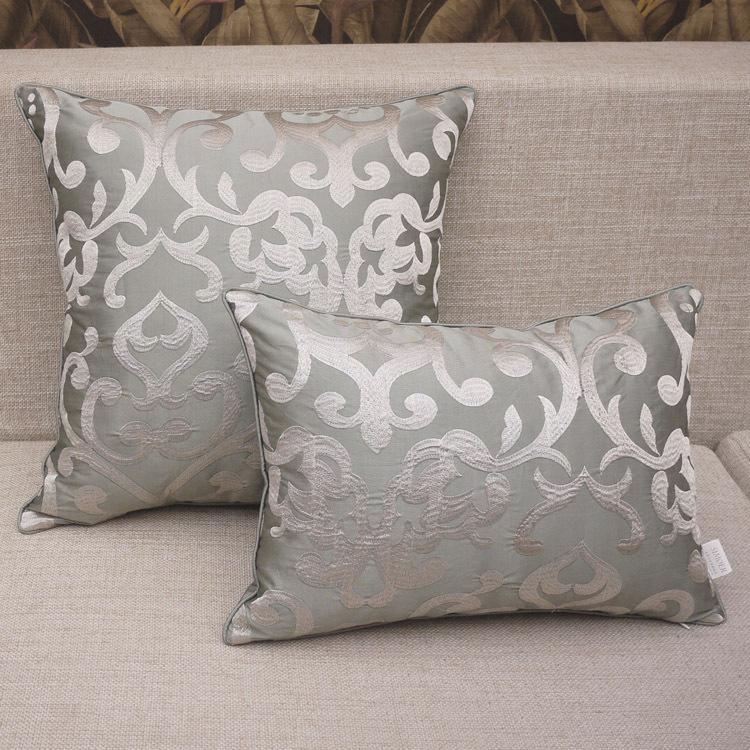 Dark Golden Strip Cushion Cover European Luxury Cushion