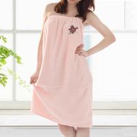 100% cotton plain embroidered bath skirt tube top button 100% cotton home dress multicolor
