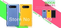 HK Free ship For Nillkin case for  Nokia Lumia 820  colorful shield with, Screen protector for free
