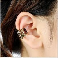 Mixed batch ($ 10) hollow U-shaped ear clip Headphone personalized men and women style earrings retro style B855
