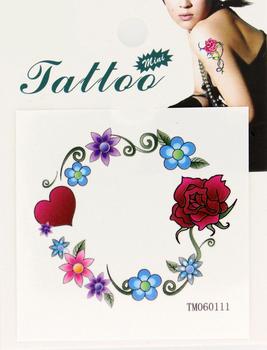 Wholesale 60pcs Garland Waterproof Temporary Tattoo Sticker Body Art Painting 60114