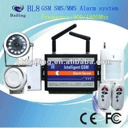 Professional BL8/E8 GSM alarm system for office and home security(China (Mainland))